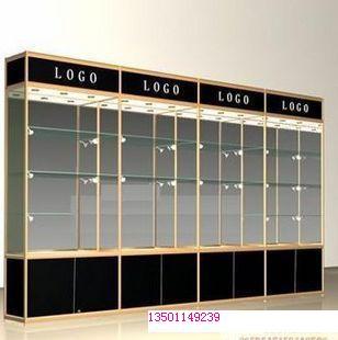 钛合金货架烤漆喷漆展柜样板图