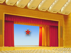 供应墙面装饰软包   舞台幕布