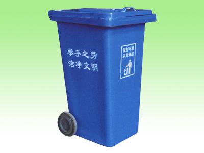 新型环卫垃圾桶环卫垃圾车图片