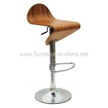 供应弯曲木酒吧椅,广东弯曲木酒吧椅家具加工厂批发价格
