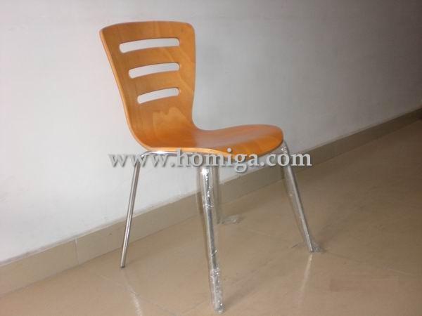 供应榉木贴面弯曲木椅,广东枫木贴面弯曲木椅家具加工厂批发价格