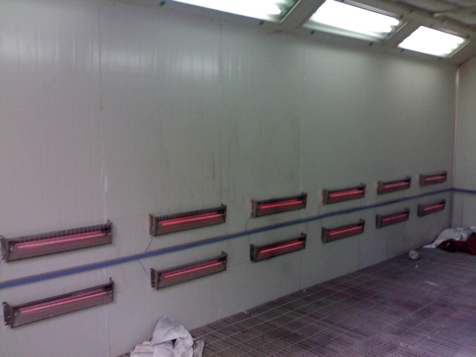 供应北京红外线豪华汽车喷烤漆房
