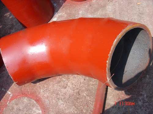 供应生产耐磨陶瓷弯头/质优价廉的耐磨陶瓷弯头生产厂/山东旭盈钢管