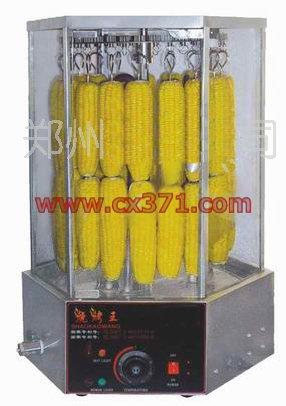 烤玉米机、豪华型烤玉米机双层旋转烧玉米机旋转烤玉米机