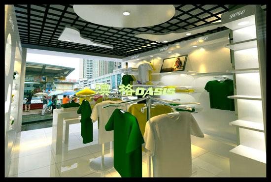供应服装店柜台设计/服装展示柜/鞋店展示柜