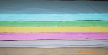 彩色书写纸图片/彩色书写纸样板图 (1)