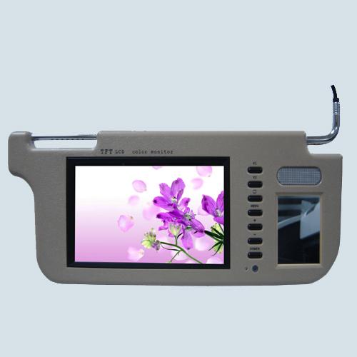 遮阳板液晶显示器图片