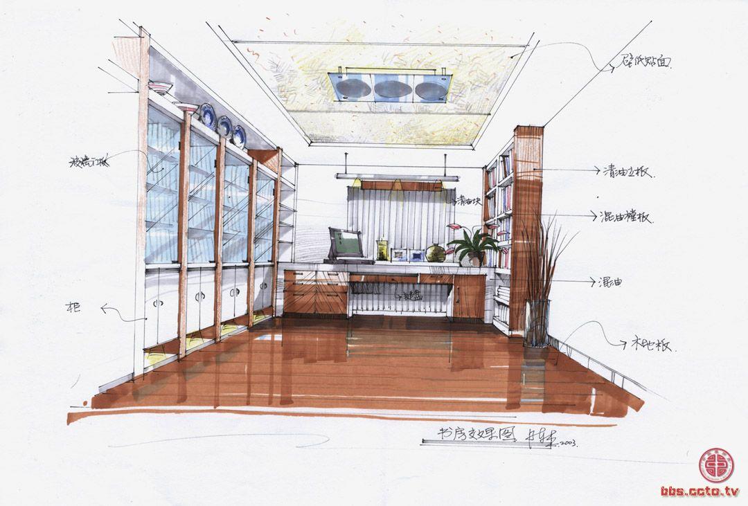 长沙中南设计手绘班图片
