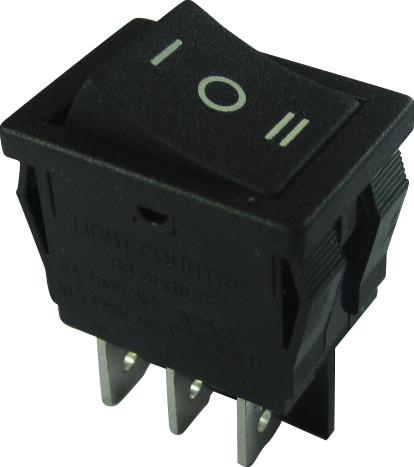 六脚带灯的开关怎么接?_六脚船型开关怎样接线 求内部带指示灯的三脚船型开关接线法