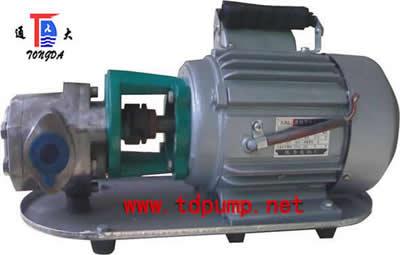 供应WCB齿轮油泵批发