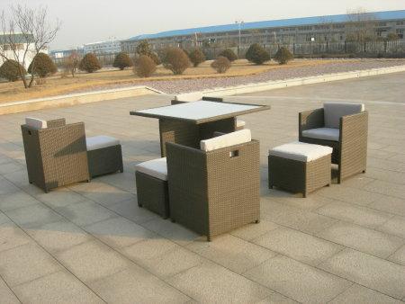 供应别墅户外编藤沙发庭院欧式户外桌椅图片