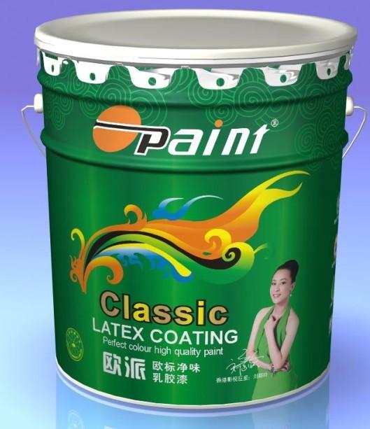 供应十大品牌油漆涂料欧派欧标乳胶漆图片