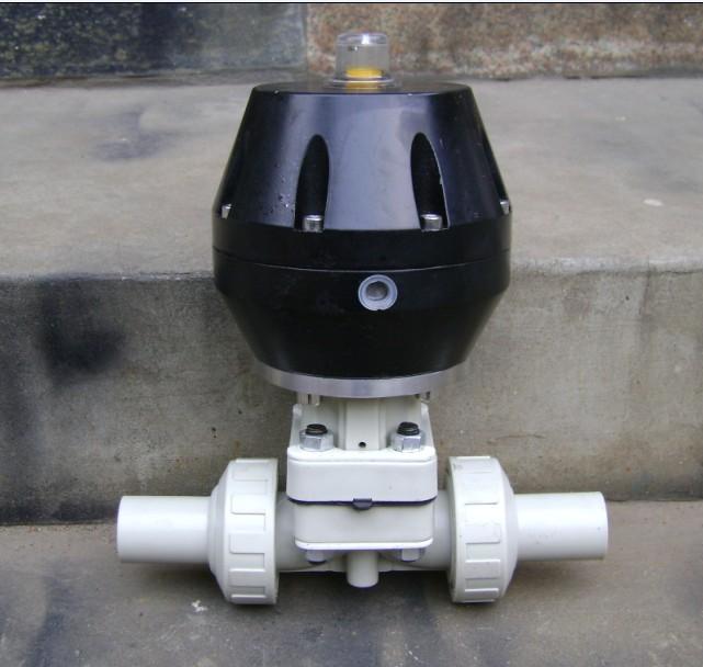 气动隔膜阀_气动隔膜阀供货商图片