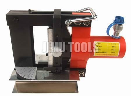 供应 弯曲铜排铝排弯曲 液压分体式铜铝排弯曲工具CB-150D