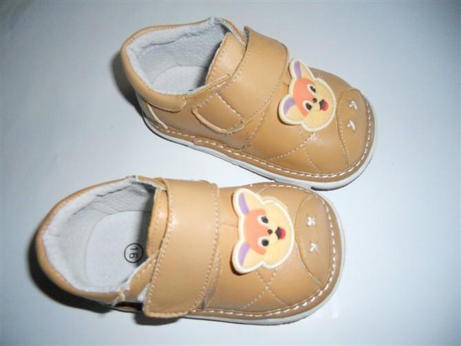 供应猫猫头宝宝小皮鞋