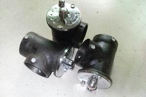 供应2寸广式风阀甲醇灶专用风阀