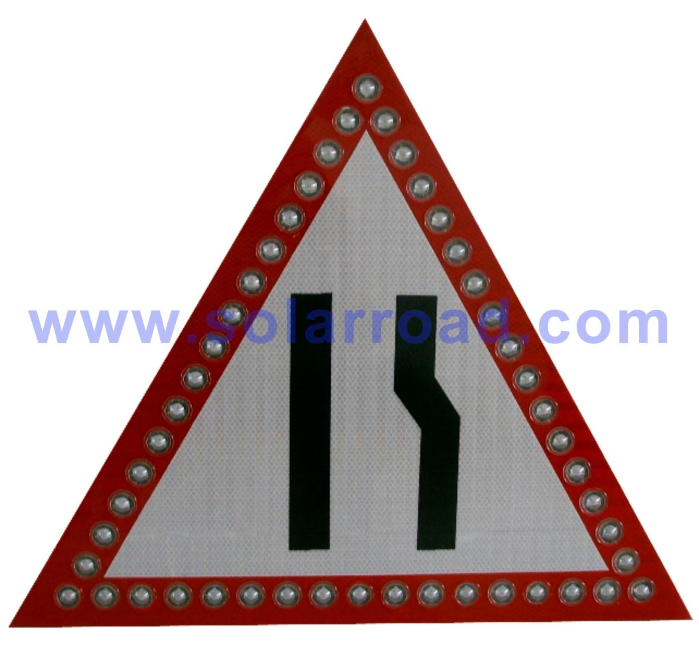 产各种太阳能导向标志牌、限速牌等交通类产品.交通标志牌