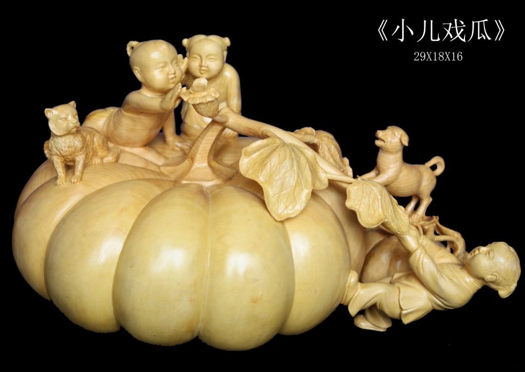 供应乐清民间工艺品黄杨木雕图片
