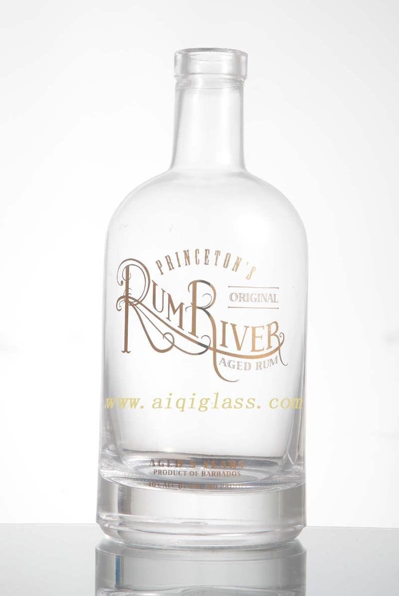 供应广州高档威士忌酒瓶,伏特加酒瓶,白兰地酒瓶伏特加玻璃酒瓶批发