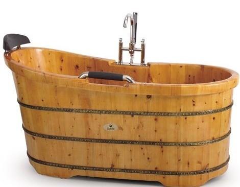 折叠式木质浴桶