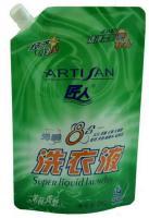 高级洗衣液包装袋直立吸嘴洗衣液包装袋
