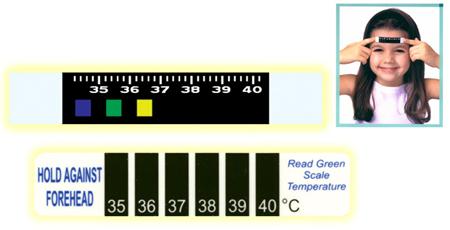 液晶温度计/LED变色温度计/额头温度剂批发