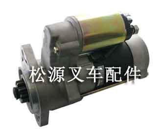 供应三菱叉车配件s4e起动机马达图片