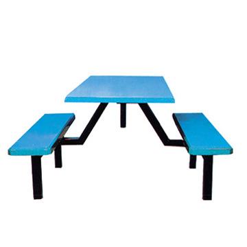 公司食堂餐桌椅图片