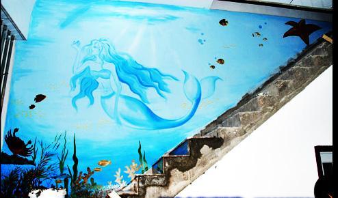 绘宝手绘墙有限公司 各类室内外壁画墙绘图片