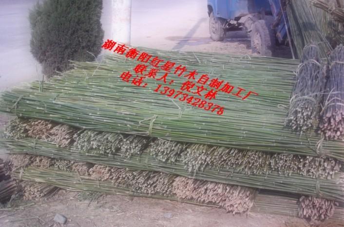 供应新鲜菜架竹批发