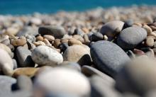 优质的鹅卵石滤料厂家 高效的水过滤材料鹅卵石滤料 蓝宇鹅卵石滤料