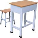南阳校用办公家具厂家供应双人课桌椅/学生用课桌/单人课桌椅批发