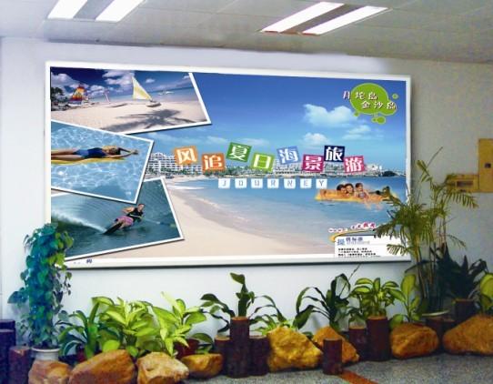 供应深圳蛇口码头广告香港机场登机