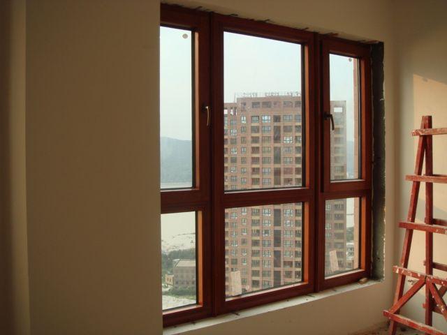 成都专业铝包木门窗图片