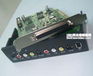 带模拟信号输出高清非编卡图片