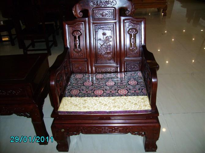 红木椅坐垫制作图解
