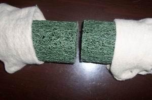塑料乱丝排水盲管图片/塑料乱丝排水盲管样板图