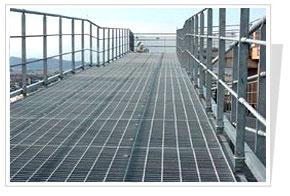 东岳热镀锌平台钢格栅板图片/东岳热镀锌平台钢格栅板样板图