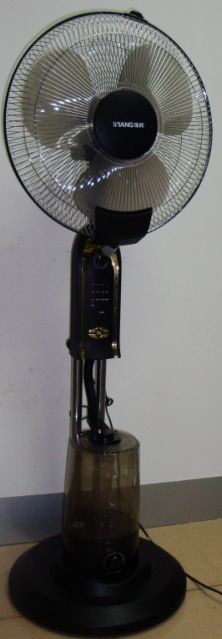 供应广州家用型带摇控东莞喷雾风扇空调电风扇加湿器雾化器批发