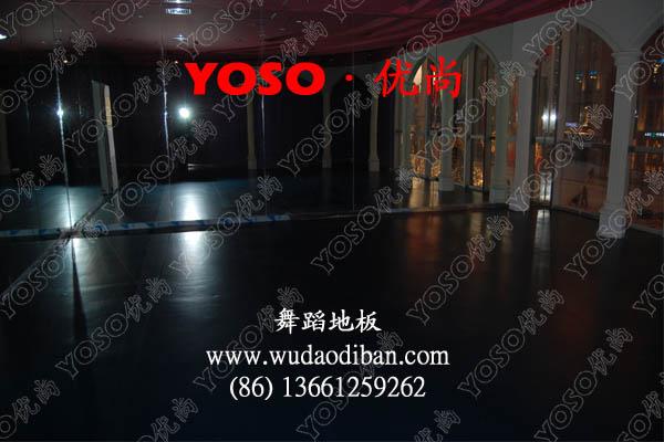 供应舞蹈教室运动地胶舞蹈教室胶地板