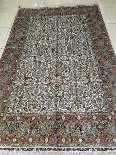 手工真丝地毯一件起批/厂家直销图片