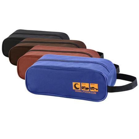 蓝橙w-proof天窗可视型旅行鞋袋