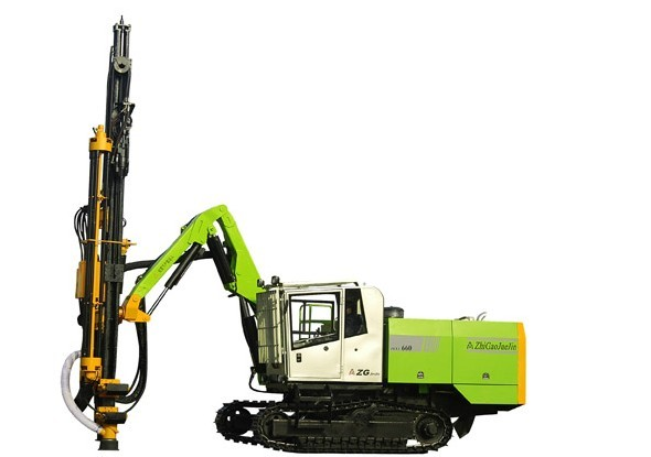 供应志高660全液压露天凿岩钻机价格 志高660全液压露天顶锤凿岩钻机批发