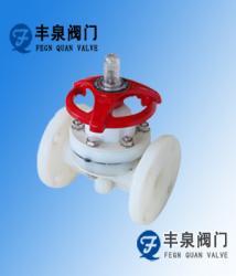 供應PVDF塑料抗腐蝕隔膜閥