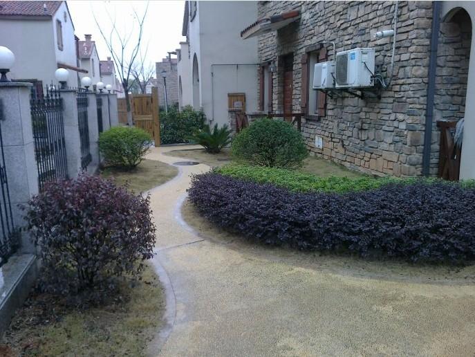 庭院绿化效果图_农村庭院绿化图片欣赏
