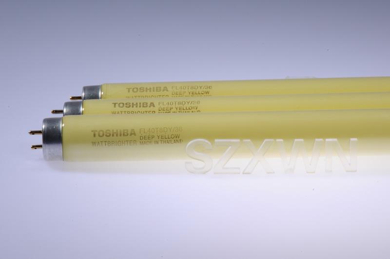 供应东芝黄色灯管