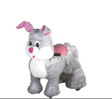 小动物电动车小兔子