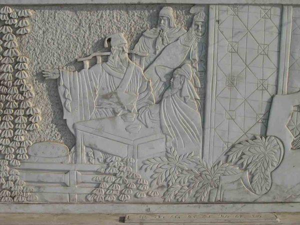浮雕壁画图片 浮雕壁画样板图 石雕迎壁墙九龙壁壁画浮雕...