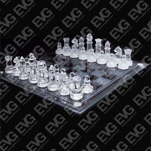 供应玻璃国际象棋批发
