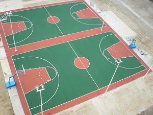 标准篮球场规格平面图[标准篮球场尺寸图] - 教